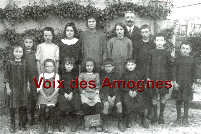 Photo de Classe de Saint-Firmin 1923