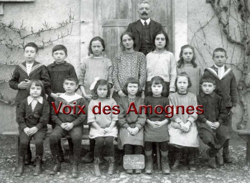 Photo de classe de Saint-Firmin 1924
