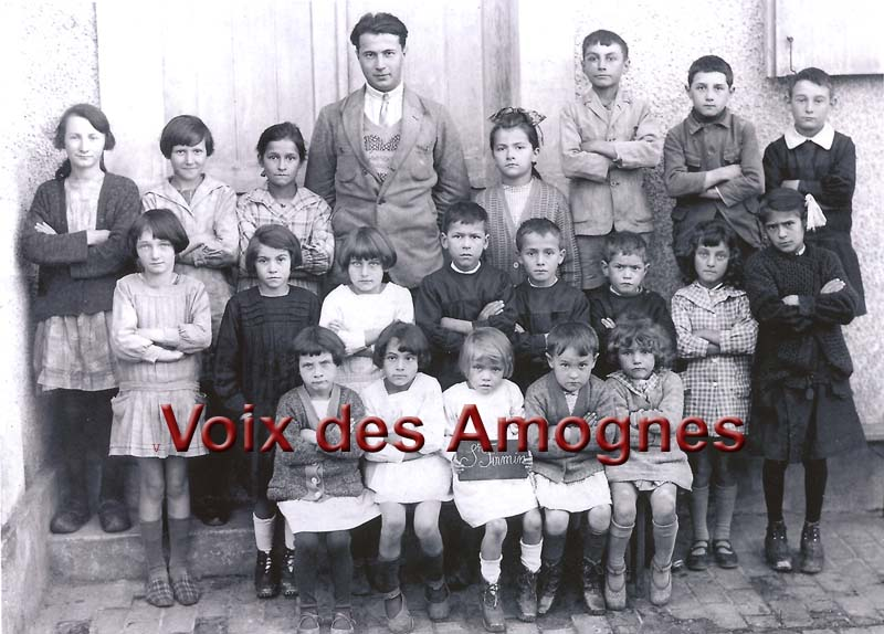 Photo de classe de Saint Firmin 1928