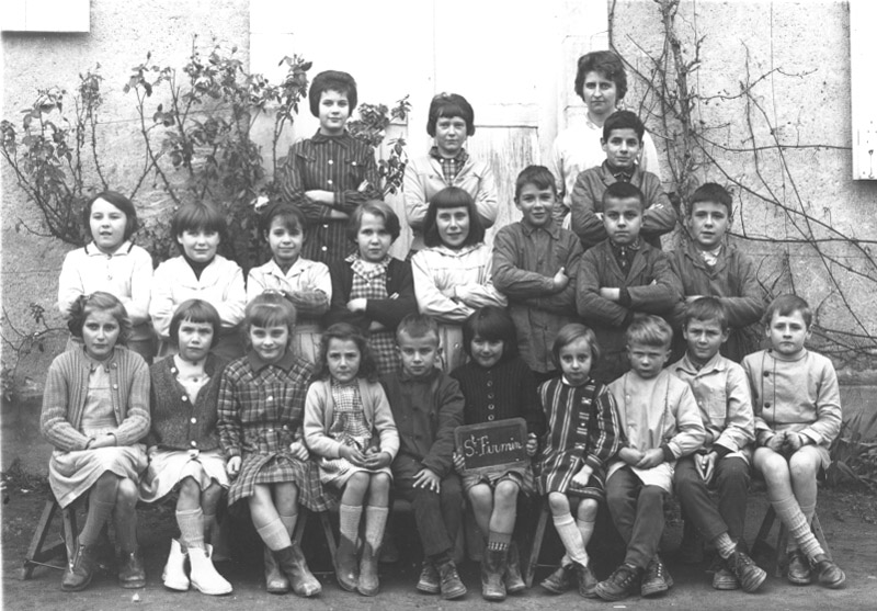 Photo de Classe de Saint-Firmin 1963