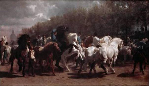 Foire aux chevaux par Rosa Bonheur
